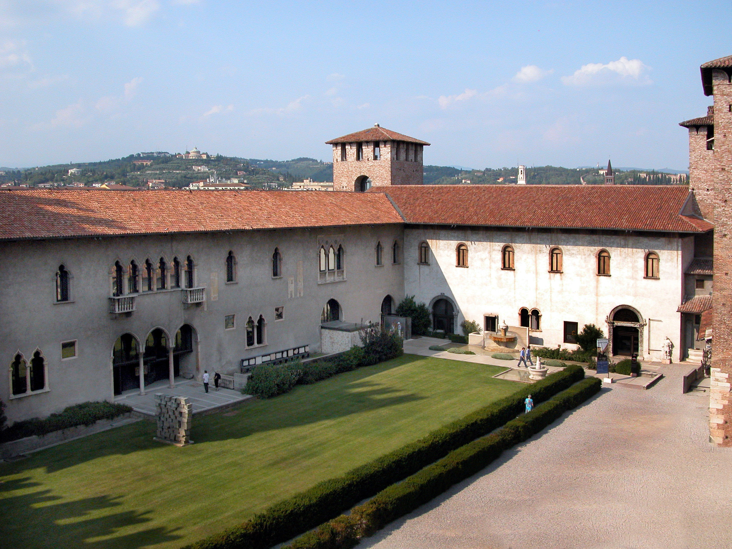 Castelvecchio_-_cortile