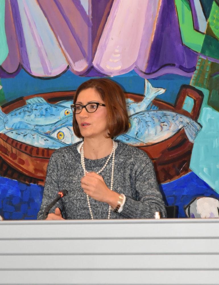 La neo eletta Presidente della Comunità del Garda, on. Maria Stella Gelmini incontra i Sindaci del Garda Veronese