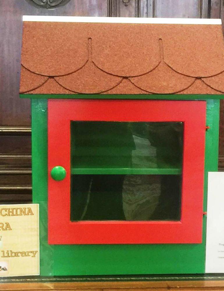 Entro la fine di dicembre due Little Free Library Biblioteche Libere nelle aree verdi della 8 circoscrizione