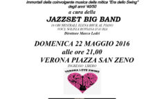 "Jazzset Big Band presenta ""Verona Love Swing"""