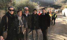 """Nuove infrastrutture a Grezzana. Acque Veronesi al lavoro per la realizzazione della rete fognaria nella frazione di Alcenago. Cordioli: """"Un intervento da 400 mila euro a tutela dell'ambiente""""."""