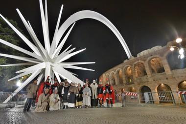 """Lunedì 26 dicembre a Verona la prima rappresentazione del """"Presepe Vivente"""""""