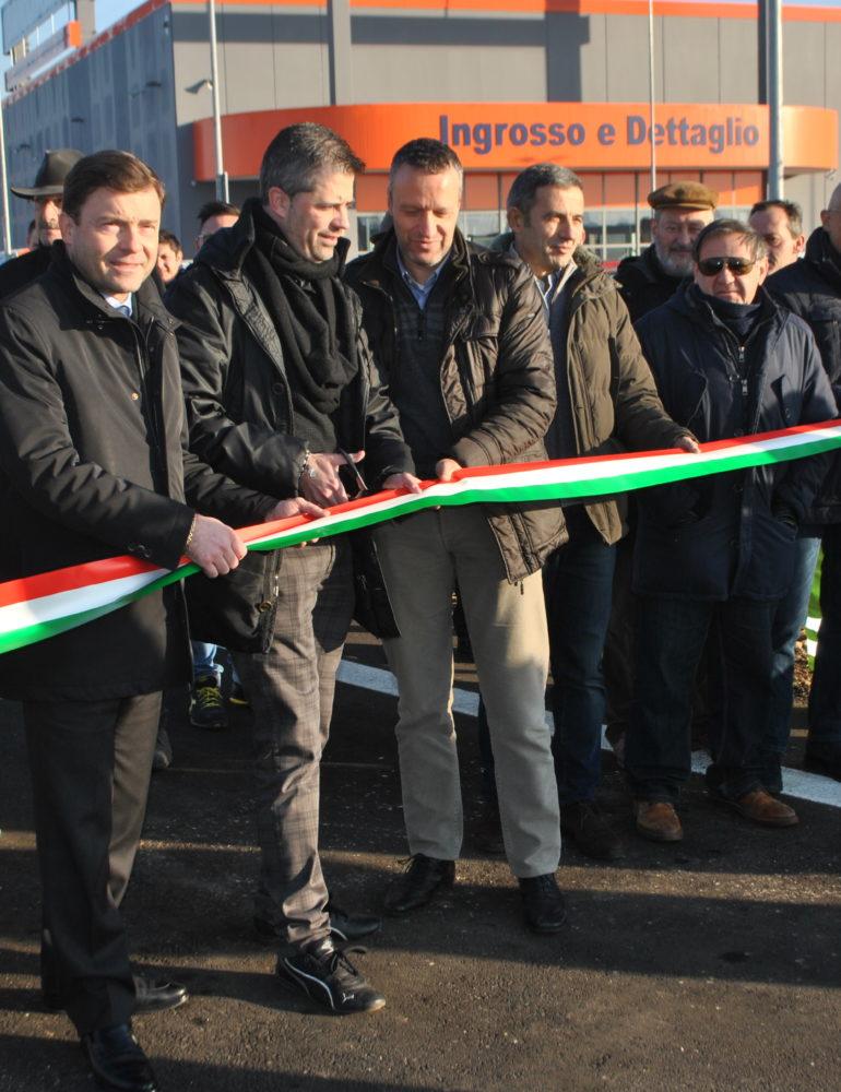 Apertura nuovi svincoli della tangenziale sud di Via Vigasio.