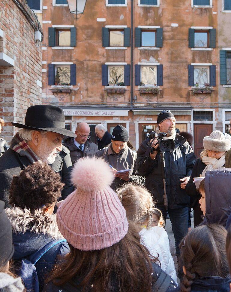 Giorno della Memoria: Zaia al Ghetto Ebraico di Venezia.