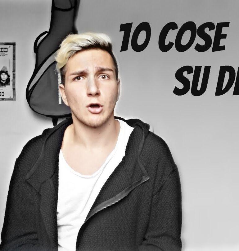 #Sanremo2017: Fabrizio Valerio, lo Youtuber stregato dalla Mannoia, il commento alla sua canzone