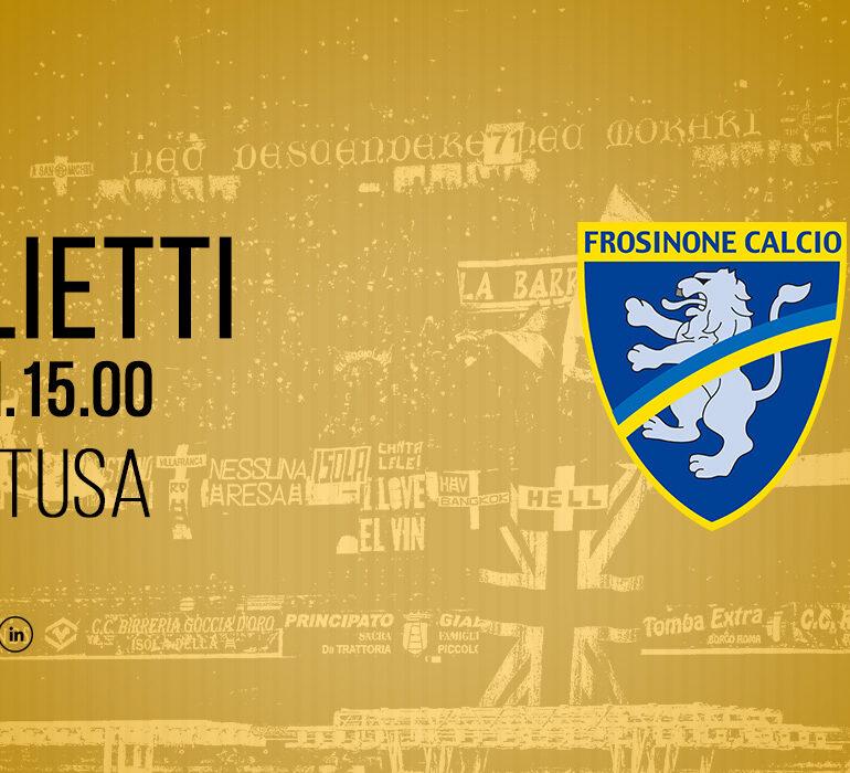 #VeronaFrosinone: info prevendita
