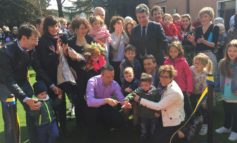 Conclusa riqualificazione parco giochi della scuola dell' infanzia 'Maria Immacolata' di Marzana