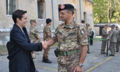 """Caserma """"Dalla Bona"""": Cerimonia di avvicendamento alla guida del Comando delle Forze Operative Terrestri di Supporto. Ass. Toffali"""