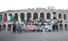 Blocco Studentesco – Blitz e striscione in piazza Bra