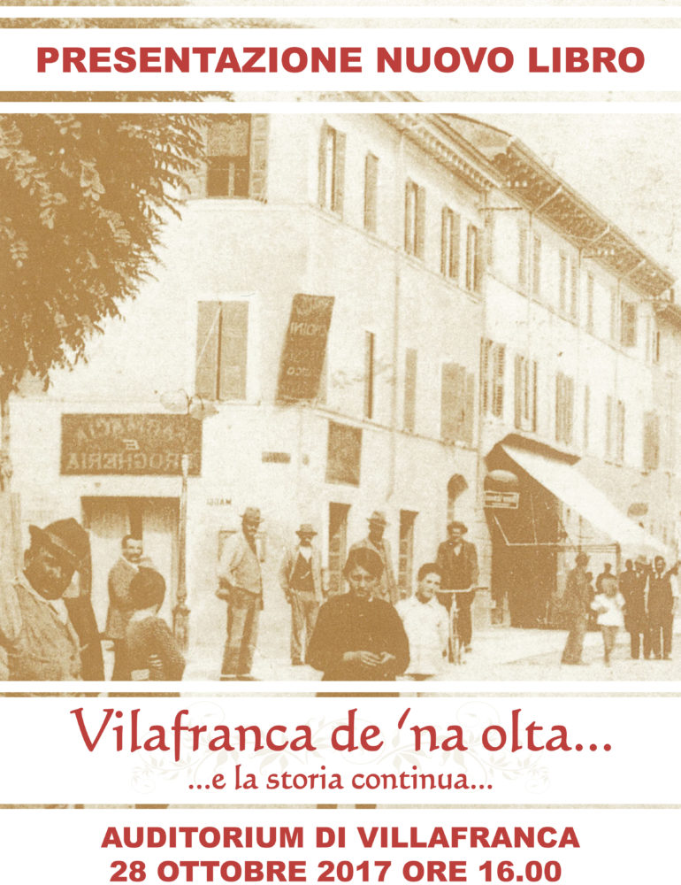 Vilafranca de' na olta…e la storia continua…