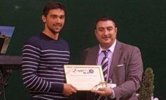 La solidarietà si fa strada alla Fiera della polenta, premiato da ANAS per il suo fair play anche il campione di nuoto Luca Pizzini.