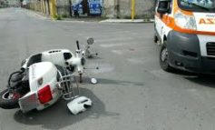 Polizia Municipale: incidenti stradali. Stamattina feriti 1 scooterista e 1 pedone