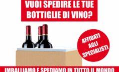 Vuoi spedire le tue bottiglie di vino per Natale? Affidati agli specialisti.