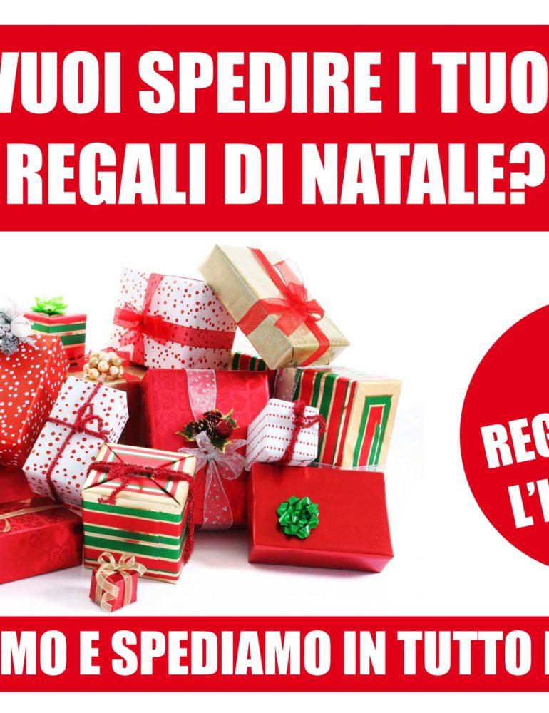 Natale si avvicina. Spedisci con noi i tuoi regali, ti regaliamo l'imballo.