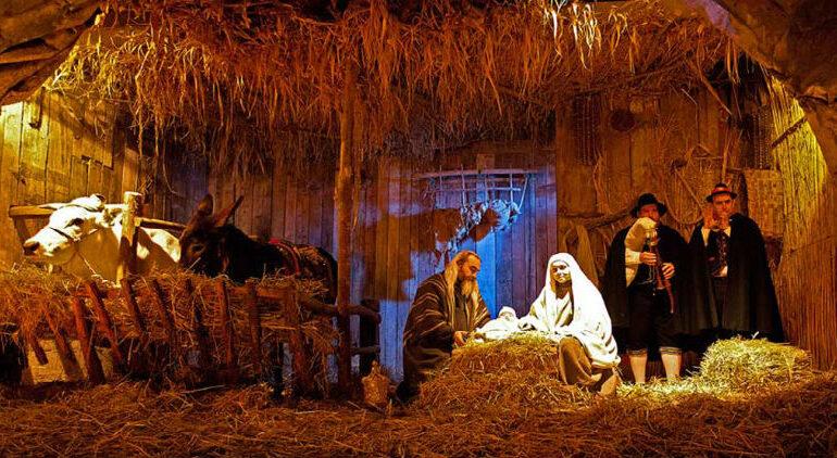Natale, presepe vivente a grotte Villaga