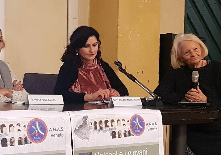 Convegno di ANAS Veneto all'Auditorium di Villafranca sul tema Alcool e giovani, tra cause e soluzioni.