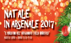 NATALE IN ARSENALE 2017 – 16 E 17 DICEMBRE 2017