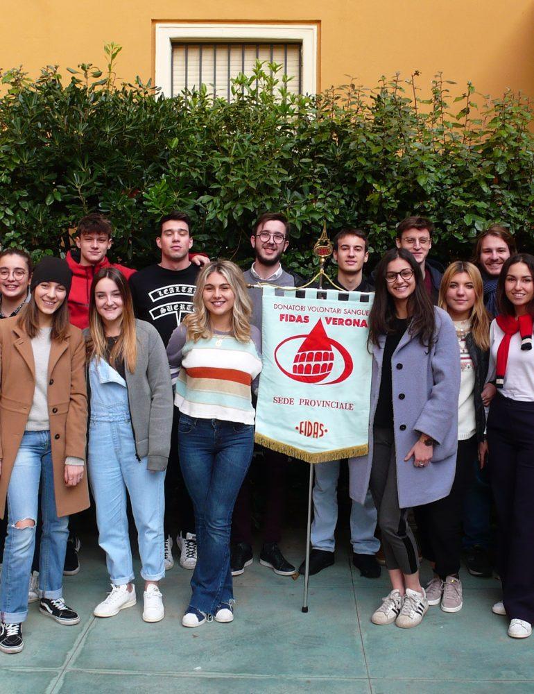 """Fidas Verona cresce nelle scuole: una nuova sezione all'istituto """"Alle Stimate"""""""