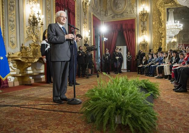 Mattarella: 'Sorti del Paese sono comuni, ora responsabilità'