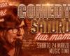 """Faccia pulita e linguaggio graffiante:  Andrea Saleri all'Associazione SDV per """"Comedy Saturday"""""""