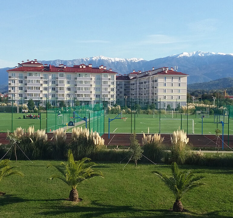 Il villaggio olimpico di Soči si tinge di gialloblù!