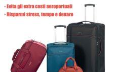 Problema bagagli? Viaggia leggero! Spediscili in vacanza!
