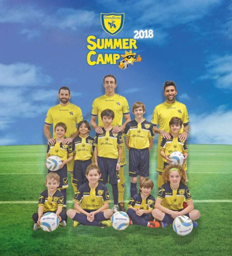 Aperte le iscrizioni per i Chievo Summer Camp 2018