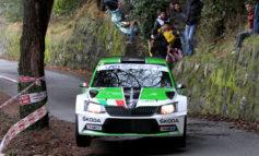 Un ottimo podio per Scandola-D'Amore nella seconda prova del Campionato Italiano Rally a Sanremo (IM)
