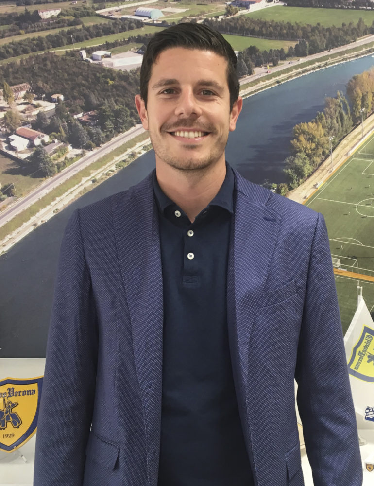 Andrea Catellani Responsabile Primavera e squadre nazionali gialloblù
