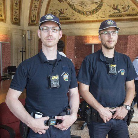 Padova, polizia locale con body cam