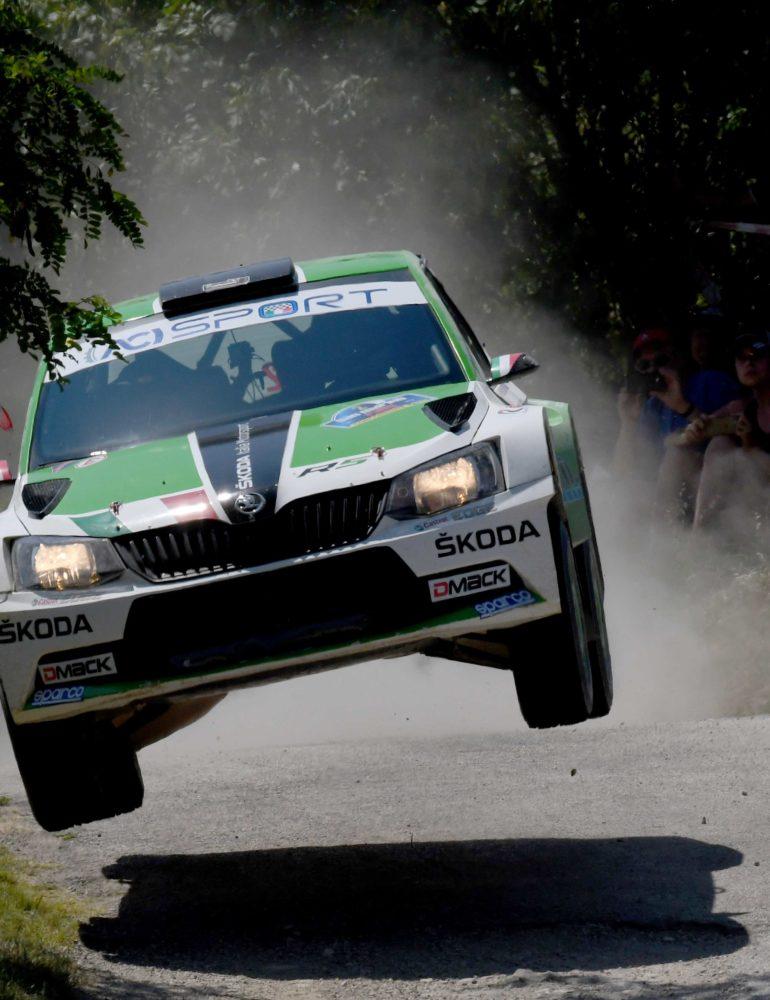ŠKODA Italia Motorsport grande rimonta al San Marino Rally
