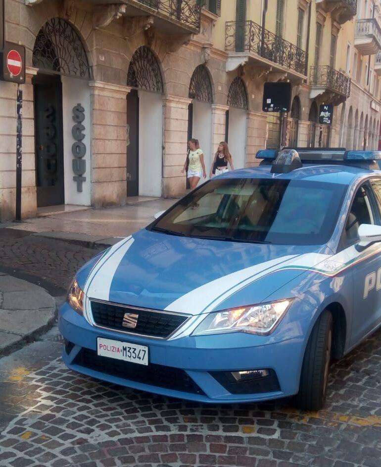 VERONA:Furto al negozio SCOUT in Corso Cavour. Ventitrenne arrestato dalla Polizia di Stato.