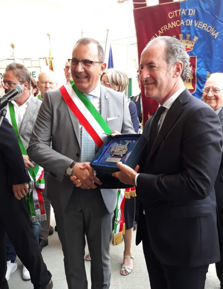 Inaugurato nuovo Ospedale Magalini di Villafranca (VR).