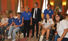 A Palazzo Barbieri i ragazzi dello 'Youth Camp' Lions Club International