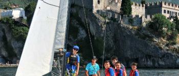 Hellas Camp: in vela sul Lago di Garda, che giornata a Malcesine