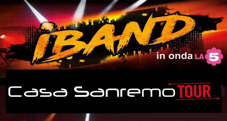 Casa Sanremo Tour e iBand, insieme per la musica