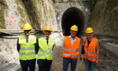 """Sopralluogo ai cantieri per l'elettrificazione della linea ferroviaria Conegliano - Vittorio Veneto. Zaia: """"Altri chiacchierano, noi facciamo"""""""