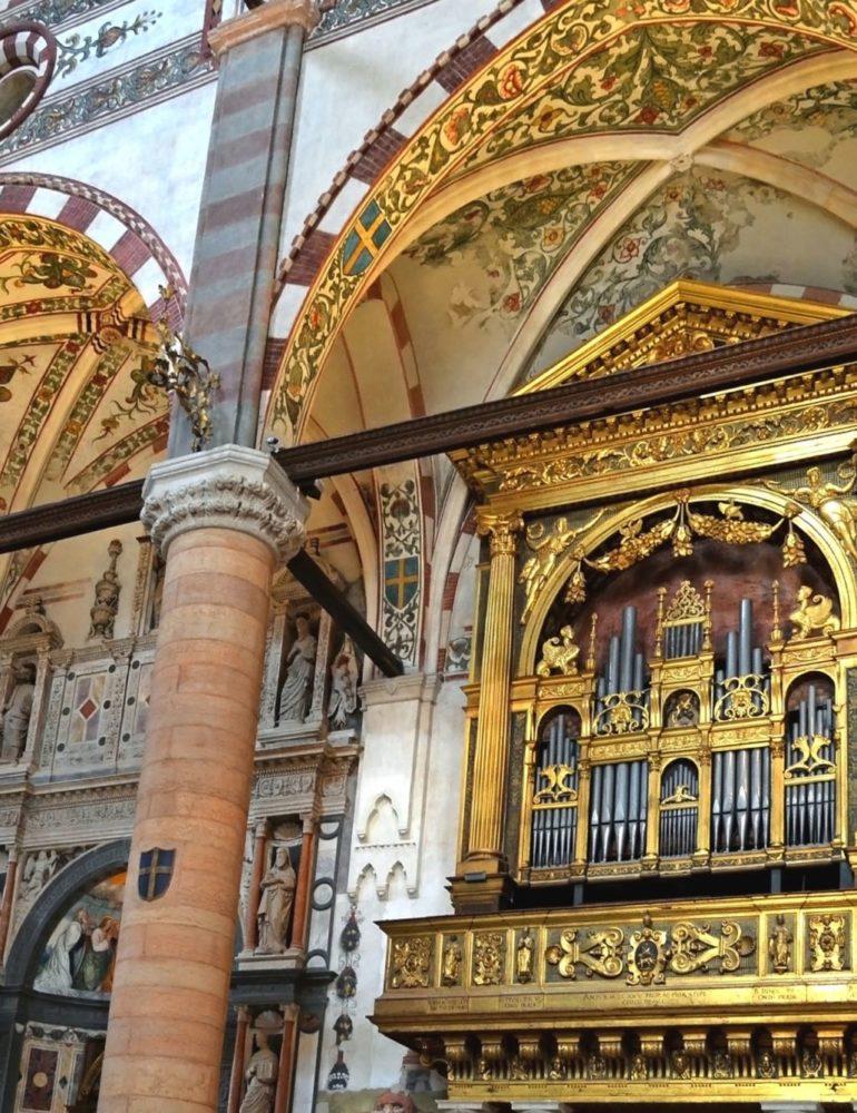Concerti dell'Assunta: organi in festa in cinque tra le più belle chiese di Verona