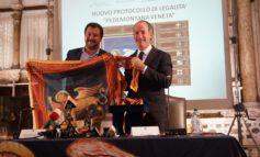 """Pedemontana Veneta. Salvini e Zaia firmano nuovo protocollo Legalita'. Ministro, """"Opera puo' essere un modello per l'Italia"""". Governatore, """"Giorno storico. Risolve i problemi di mezzo Veneto"""""""
