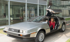 Il Museo Nicolis sul red carpet a Venezia con la DeLorean. Il film DRIVEN chiude il 75° Festival del Cinema