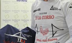Con la maglia di quelli del Ponte Morandi alla maratona di New York