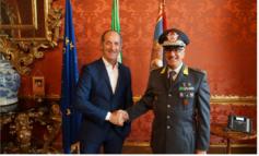 Zaia riceve nuovo comandante GDF del Veneto generale Mainolfi