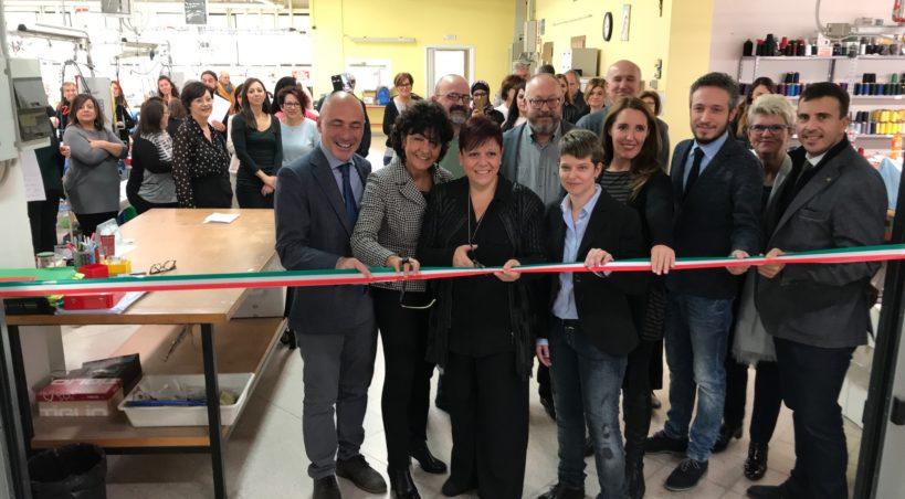 Assessore Donazzan a inaugurazione attività centro moda polesano di Stienta (RO)