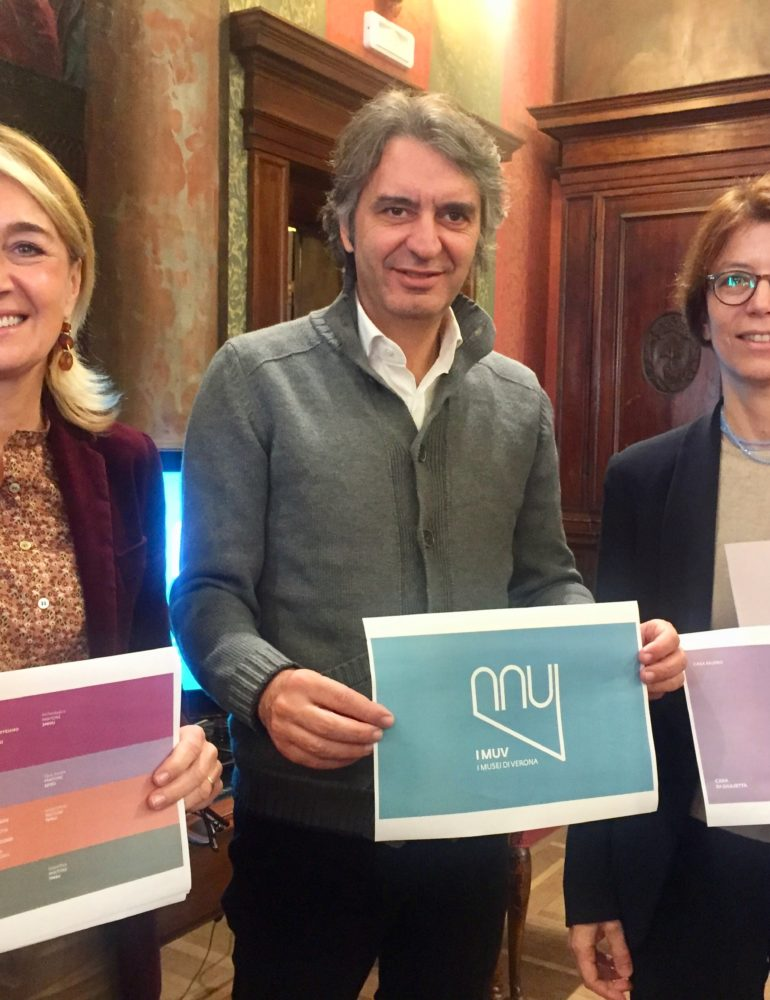 """""""I Muv"""" nuovo brand dei musei di Verona"""