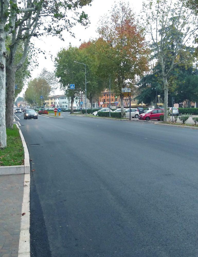 Fase finale per le asfaltature di San Giovanni Lupatoto, Raldon e Pozzo, con una spesa di 372.000,00 euro