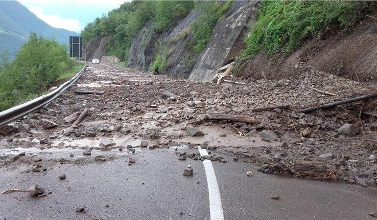 Non piove più in Veneto ma permane il pericolo di smottamenti e frane nel Bellunese e nell' alta Marca