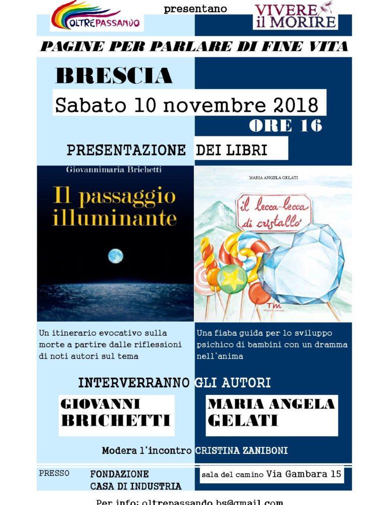 Sabato 10 novembre 2018 ore 16.00 – Presentazione libri