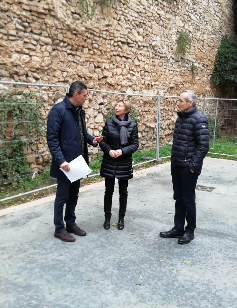 Giunta stanzia 500 mila euro per la messa in sicurezza della cinta magistrale