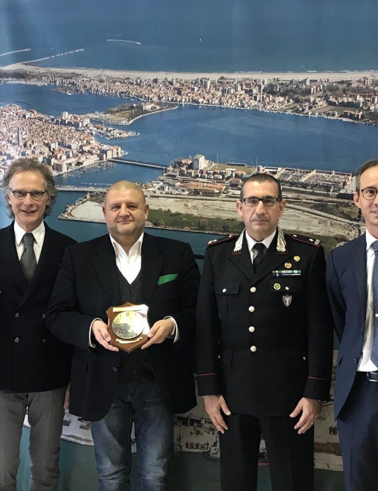Porto di Chioggia, lavori di bonifica e riqualificazione dell' ex discarica in Val da Rio.
