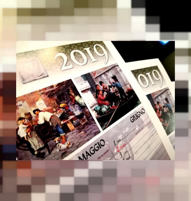 Vita Venezia in Calendario gondolieri